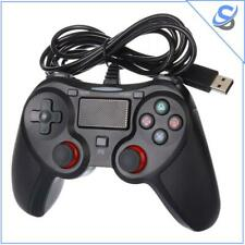 Wired PS4 PS3 PC Joypad USB Console Gamepad Controller Vibration Videogames