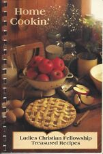 MILFORD OH 1995 CHURCH OF CHRIST COOK BOOK HOME COOKIN TREASURED RECIPES * OHIO