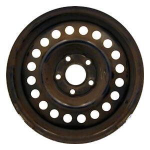 08011 Refinished Black Steel 14in Wheel Fits 1992-1998 Buick Skylark