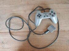 Official Sony PlayStation 1 One PS1 Dual Shock Analog Gray Controller SCPH-1200