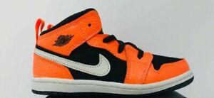Nike Air Jordan 1 Mid Black Cone 640735-062 TD Toddler