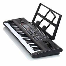 61 Key Music Electronic Keyboard Electric Digital Piano Organ W/ Stand and Mic