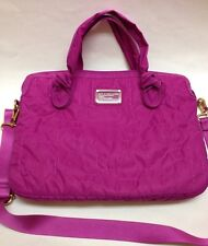 Marc By Marc Jacobs Standard Supply Nylon Messenger Laptop Bag Case Pink Magenta