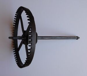 Medieval Renaissance Christian Church Cathedral Tower Clock Great Wheel Part !