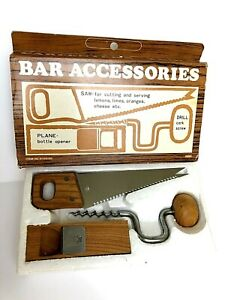 Vintage Bar Accessories Carpenter Dad Tools Woodworking Fathers Day Birthday