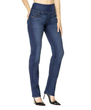 SPANX Signature Straight Jeans 28 Blue Wash FD2014 NWT $148