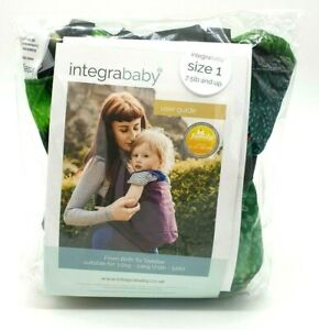 NEW  Integra Baby Sling  FOREST GLADE Integra Baby Carrier Size 1