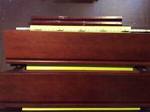 "TWO (2) POTTERY BARN KIDS Classic Shelf Color: Espresso 36""x8"""