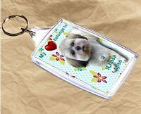 Lhasa Apso Keyring  Dog Key Ring Lhasa Apso Dog Gift Xmas Gift Mothers Day Gift