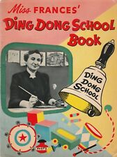 MISS FRANCES' DING DONG SCHOOL BOOK(1953)