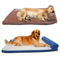 Indestructible Large Dog Bed Pet Sleeping Mat Warm Sofa for Kennel Crate Cushion