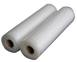Food Vacuum Sealer Rolls Food Saver Storage 10cm, 15cm, 20cm, 28cm, 35cm, 40cm