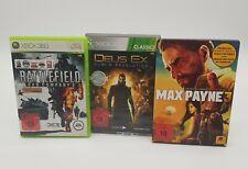 Bundle mit 3 Spielen USK 18 Games DVD Box Microsoft XBOX 360 #SEHR GUTER ZUSTAND