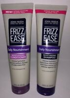 John Frieda Frizz Ease Moisturizing SHAMPOO + CONDITIONER DUO Free Shipping