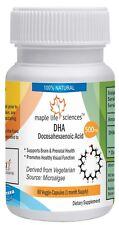 DHA Capsule Docosahexaenoic Acid OMEGA-3 fatty acid organic source microalgae