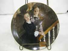 """Gone With The Wind 1989 Limited Edition Collectible Plate """"Melanie & Ashley"""""""
