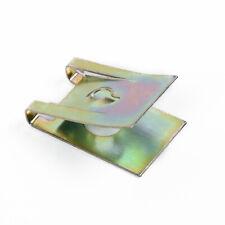 20pcs Screw Clip Metal Gasket Car Retainer Fastener 3MM U Type Nut Door Panel