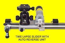 "Auto reverse digital timelapse video slider 150 cm / 59"" time lapse"