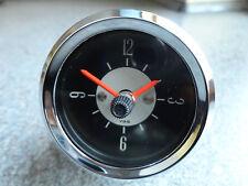 VDO OROLOGIO CLOCK oldtimer BMW VW MAGGIOLINO PORSCHE MERCEDES BENZ 6 Volt fino a 12 Volt