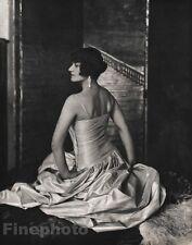 1924/63 Vintage 11x14 LA DUCHESSE DE GRAMONT Paris Photo Art By EDWARD STEICHEN