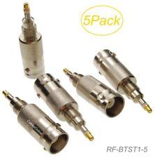 5-Pack BNC Female Antenna Conn. Radio Test Adapter for Motorola GP88/88S/338/328
