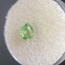 Tsavorite Garnet Vivid Green Pear Cut 0.77ct Loose Gemstone 6.5x5mm