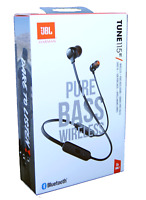 JBL Tune 115BT Wireless Earphones Bluetooth Headphones Black New