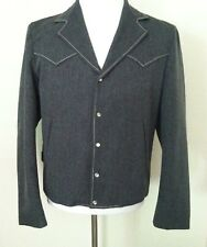 42R Vintage 50's men jacket gray Western Wear Rockabilly snap up 42R size