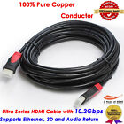 30FT / 9.2M Ultra High End GOLD HDMI v1.4 Cable 1080p 3D / 30 FT 9.2 Meters