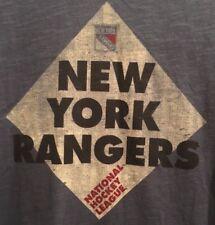 New York Rangers 47 Brand Women V-Neck T-Shirt NWT Size Large AUTHENTIC