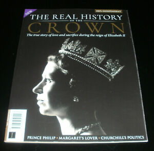 ALL ABOUT HISTORY - THE REAL HISTORY OF THE CROWN - 1st Edit.NEW Bookazine