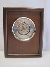 Vintage Lord King Japan Movement World Time Clock Airplane Sweep Hand B6715