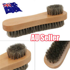 Bristle Hair Shoe Brush Double-Sided Vamp Cleaning Tool Shoes Protector Brush BO