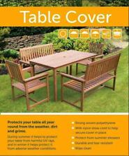 WATERPROOF GREEN TABLE COVER GARDEN FURNITURE COVER RECTANGULAR 102X203X69CM