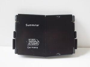 Leica Leitz Wetzlar SOOFM Black Metal Lens Hood Sunshade 50mm Summitar Lens
