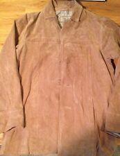 Wilsons Leather Jacket M. Julian Mens Small Gently Worn Light Brown