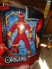 SPIDERMAN ORIGINS IRON SPIDERMAN.. CLOTH OUTFIT MIB