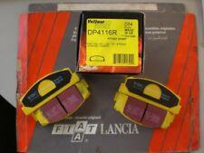 FIAT 124 131 X1/9 EBC YELLOW  HI-PERFORMANCE BRAKE PADS
