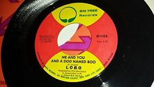 LOBO Me And You And A Dog Named / Walk Away From It All BIG TREE 112 POP ROCK 45