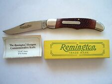 REMINGTON USA UMC R870 SHOTGUN COMMEMORATIVE KNIFE