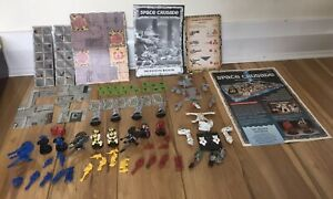 SPACE CRUSADE CRUSADE MISSION DREADNAUGHT 99% COMPLETE UNBOXED PART PAINTED