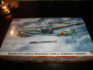 1/72 Kugisho P1Y1 GINGA Frances Typ 11 Torpedo Version by Hasegawa
