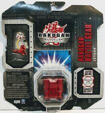 Bakugan Battle Brawlers Rojo Jetkor Batalla Gear Nuevo en paquete Gundalian Invaders