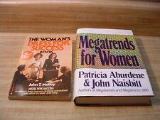 Lot 2 WOMAN'S BUSINESS BOOKS ~ MEGATRENDS FOR WOMEN ~ DRESS FOR SUCCESS