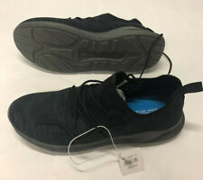 Mens American Eagle Black Gray Fabric Lightweight Running Shoes 12