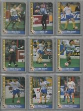 Pacific USA MISL 1990-1991 complete set in nine card pages