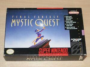 Super Nintendo / USA SNES - Final Fantasy Mystic Quest + Map - Retrogames.co.uk