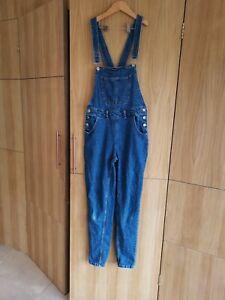 Denim & Co Blue  Dungarees Size 10