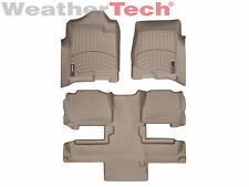 WeatherTech DigitalFit FloorLiner Tahoe/Yukon w/Bucket- 1st/2nd Row - Tan