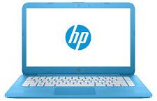 """HP Stream 14-ax050na 14"""", 32GB eMMC, Intel Celeron N3060, 1.60GHz Laptop - Aqua Blue (Y3W22EA#ABU)"""